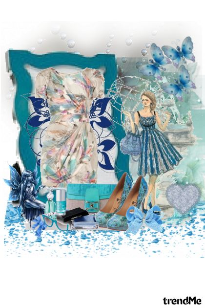 Like Blue Magic from collection Belle by Eva11