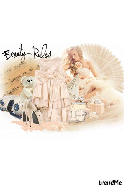 beauty rules  from collection Proljeće/Ljeto 2011 by eni marijacic