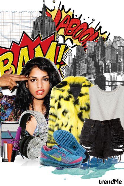 Urban Cheetah z kolekcji Spring/Summer 2012 od Danielezka