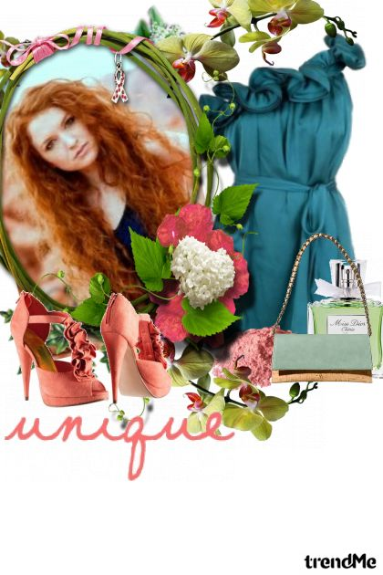 Unique Floral コレクション: Spring/Summer 2012 by  Danielezka