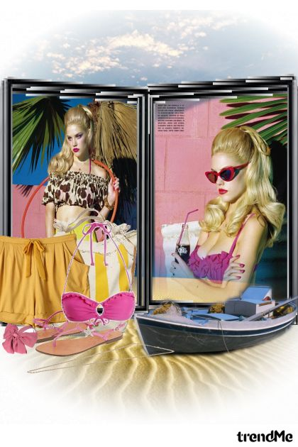 To do beach from collection Ljeto je napokon tu by Viva