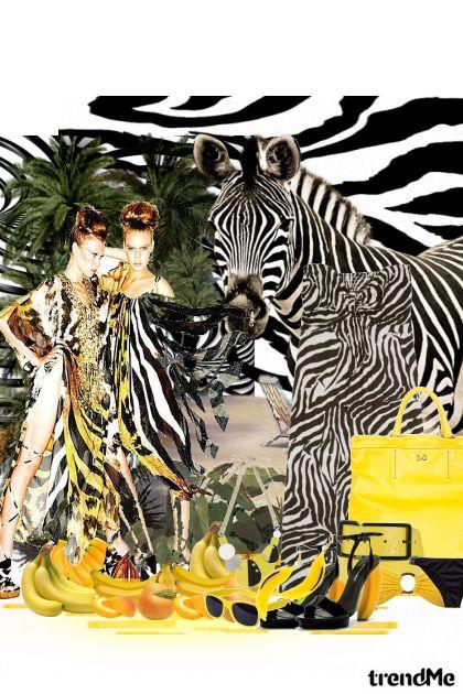 Zebra i banana from collection Ljeto je napokon tu by Viva