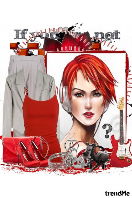 Red like her head from collection My world by Viva