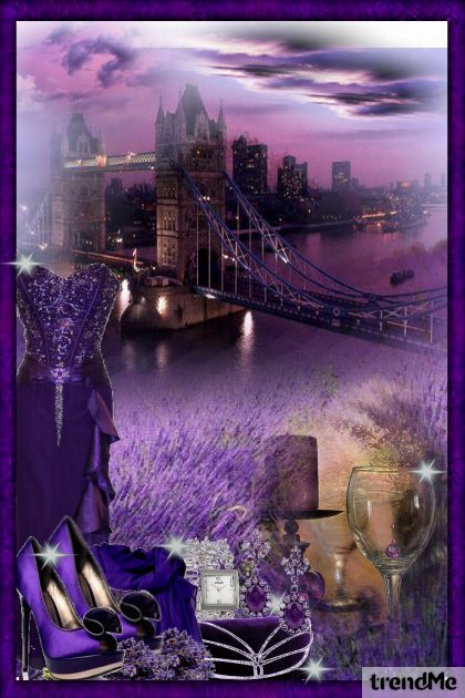 The beauty of lavender from collection Proljeće/Ljeto 2011 by mayuska