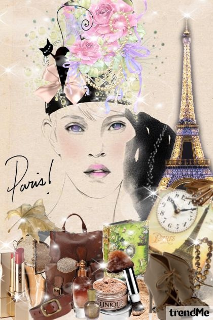 Fascinator I from collection Paris by Marisol Espaillat