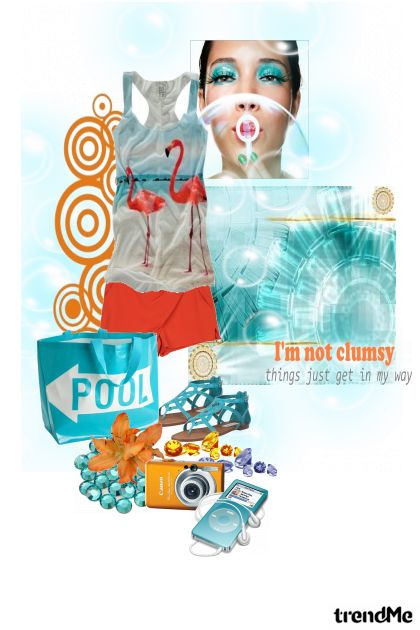 No I am not clumsy из коллекции Proljeće/Ljeto 2011 от salvore