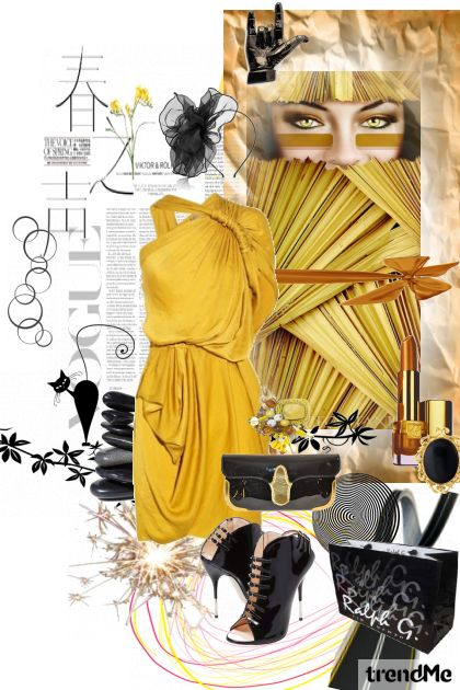 Yellow exotic.... from collection Proljeće/Ljeto 2011 by salvore