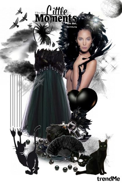 Little moments in the little black dress from collection Proljeće/Ljeto 2012 by salvore