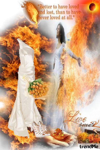 love in fire.... from collection Proljeće/Ljeto 2012 by salvore