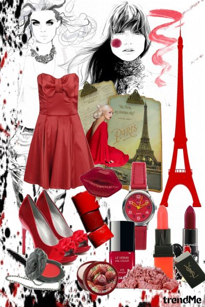 Paris, I Love you from collection B L U E by Bernardita Forno
