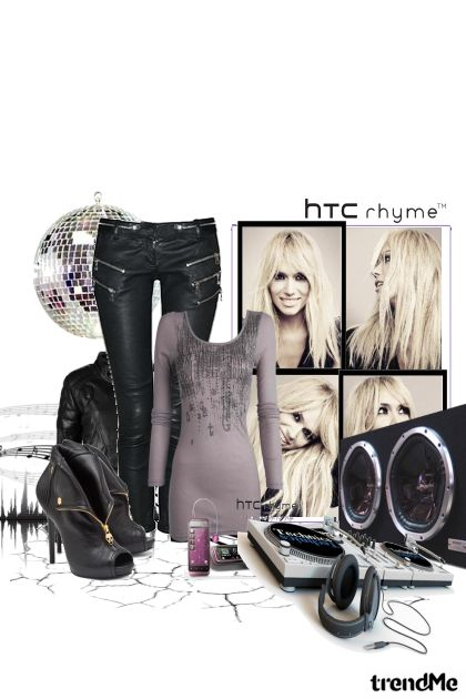 hTc rhyme   music =my life