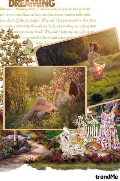 trend proljeće ;) from collection Proljeće/Ljeto 2011 by Tea Cvitanović