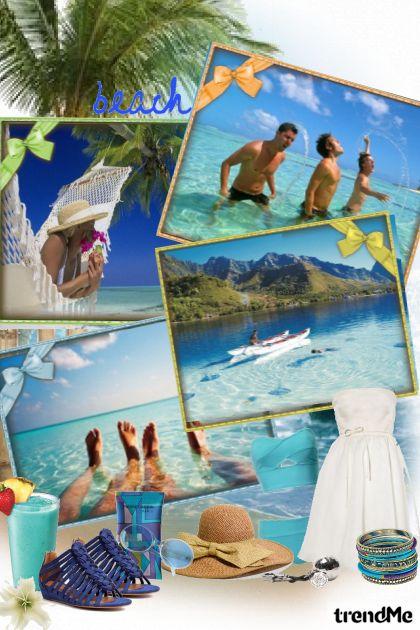 everyone loves the summer from collection Proljeće/Ljeto 2012 by Tea Cvitanović