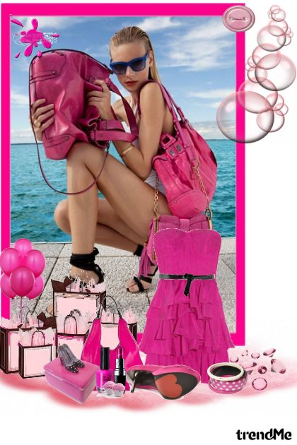 I am a barbie girl in a barbie world <3 from collection BŁack AngeŁ by Marinela Ravlić