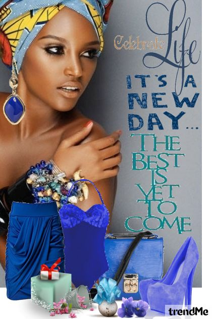 A New Day Has Coming!!! from collection Africa by Claudia da Rosa