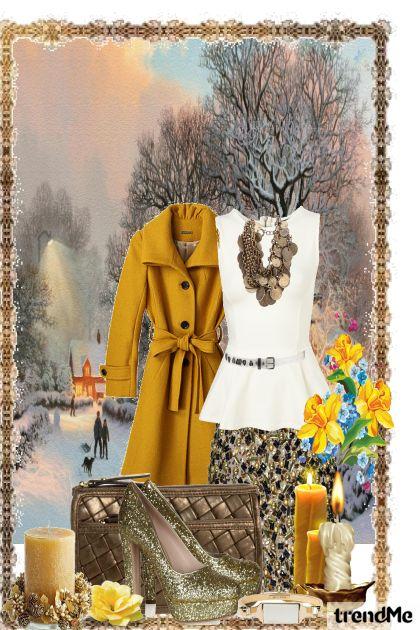 Dreams Of   Winter from collection Elegante by Claudia da Rosa