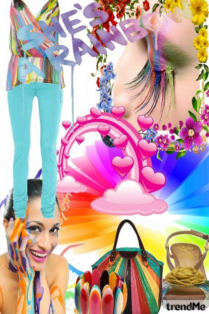 She´s  a Rainbow