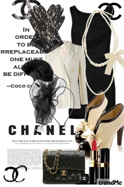 coco before chanel from collection Spring/Summer 2011 by DANA AVRAHAM