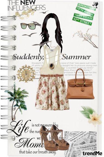 Summer flower from collection HOH 1960 inspiration by Elodie