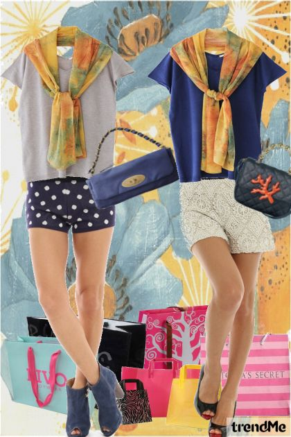 Go Shopping! from collection 春/夏 2011 by miho