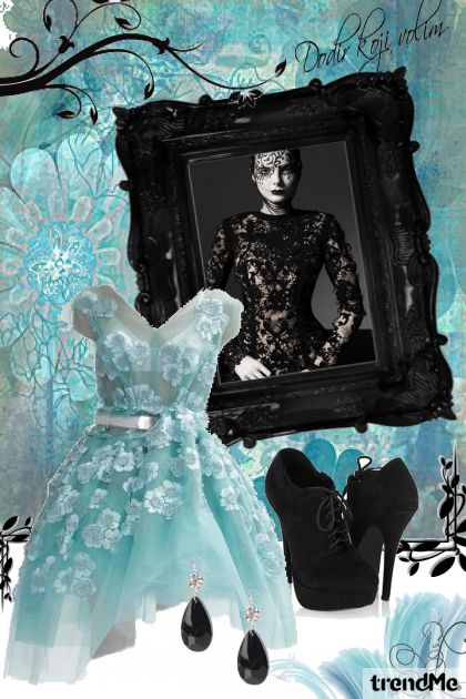 Black and blue from collection Proljeće/Ljeto 2011 by DoraDorica