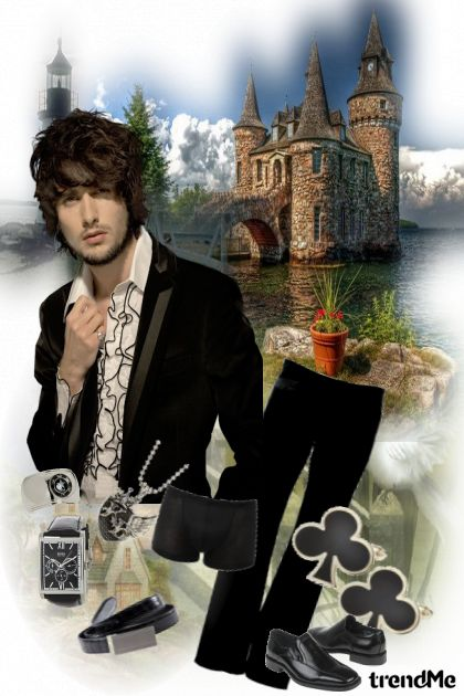 A Prince......Without a White Horse?..... from collection Something in between by jessica