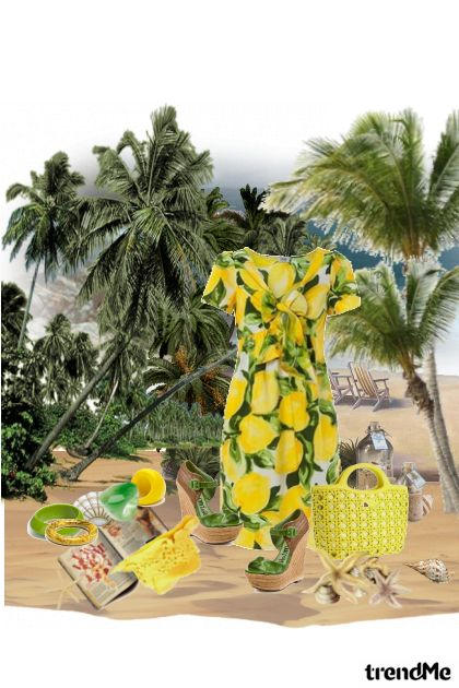 Yellow for the Beach.... from collection Something in between by jessica