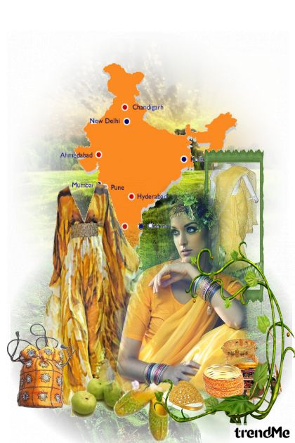India.....Somewhere in between.... from collection Something in between by jessica