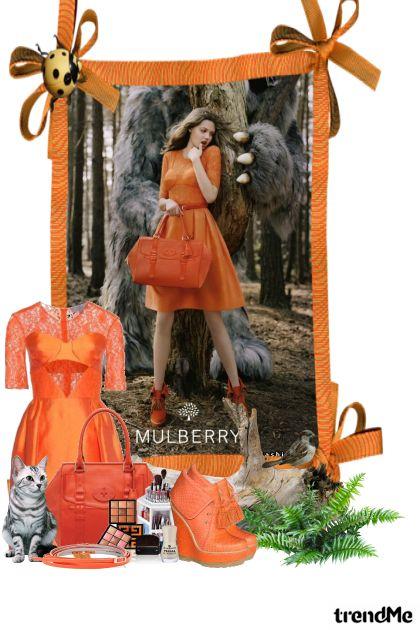 Оранжевый лес De la colección other-collection por nfyz