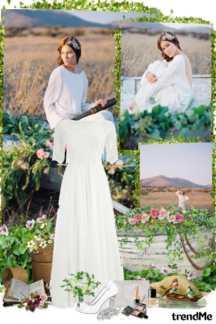 Романтическое поле from collection Wedding by nfyz