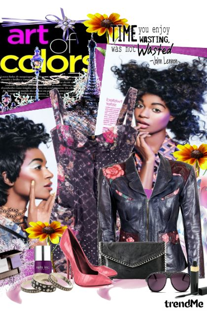Colorful world  from collection Gradski chic by Hena
