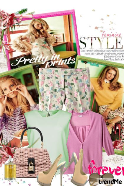 Pretty in prints  Gradski chic by Hena