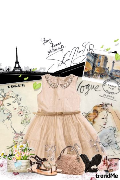 Paris with love from collection Biti ću romantična by Hena