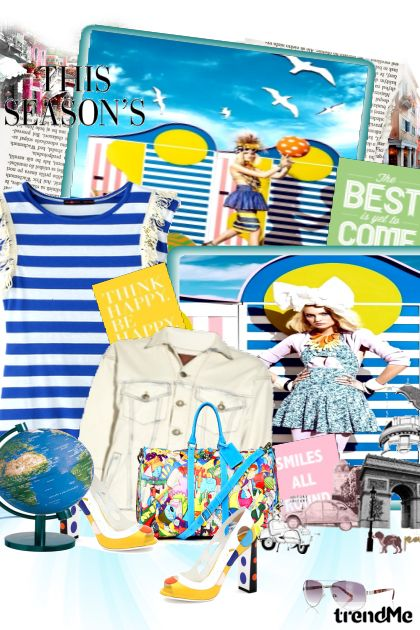 This season world is mine dalla collezione Ljeto ! di Hena