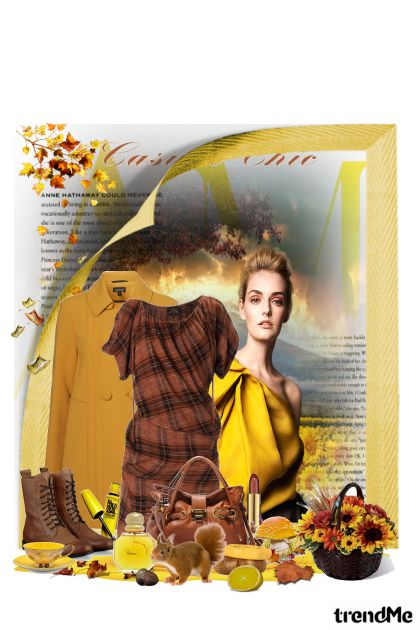 Autumn casual chic from collection jesen u meni by maca1974