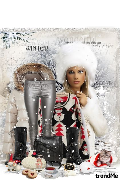 Cold as winter... from collection Winter fashion by maca1974