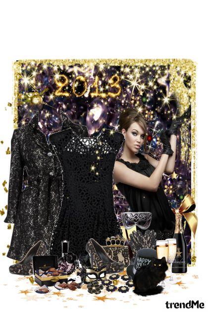 Glamour New Year's Eve from collection Novogodišnja zabava by maca1974