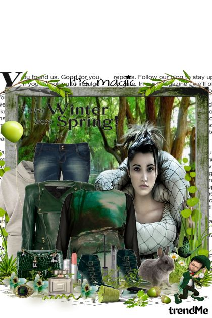 Šuma u proljeće je kao svijet iz bajke... from collection Čaroban svijet by maca1974