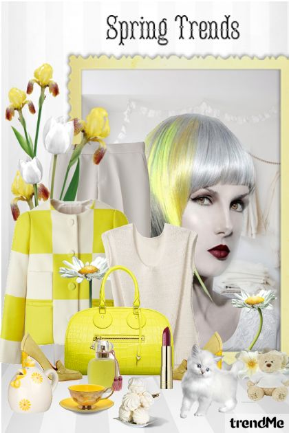 Spring trends from collection Proljetne boje by maca1974