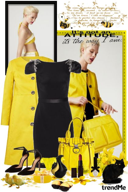 I love yellow from collection Women by maca1974