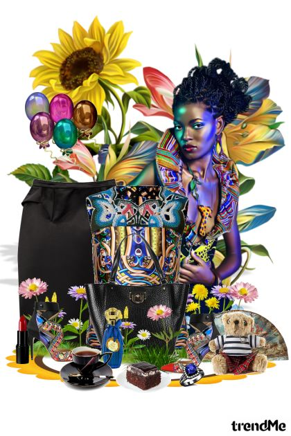 Peter Pilotto fantasy from collection Maca special edition by maca1974