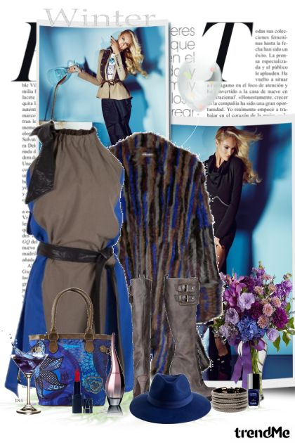 Winter glam dalla collezione It's my style di maca1974