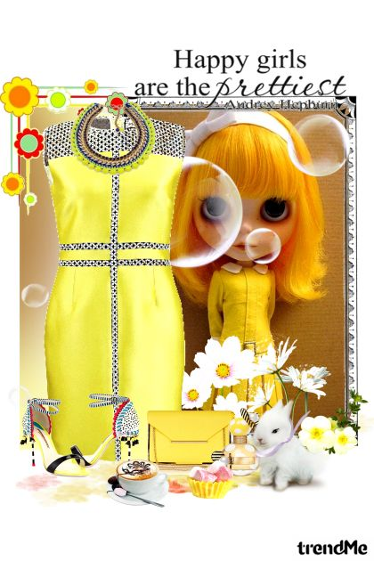 Cute in yellow from collection Vesele boje by maca1974
