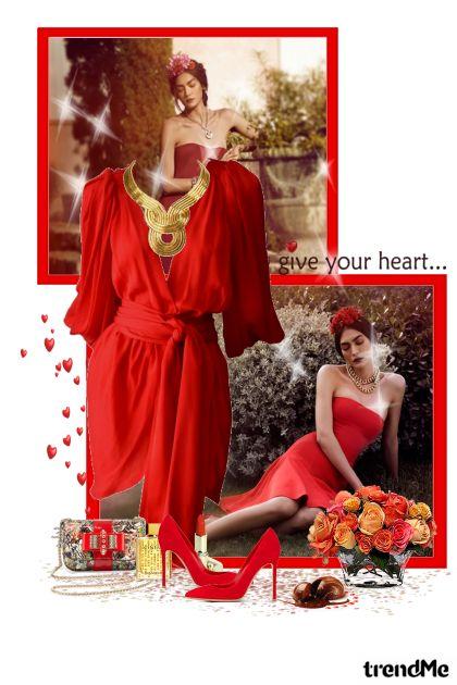 Women in red... dalla collezione Romantika di maca1974