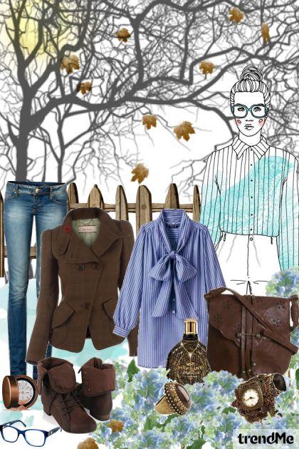 brown loves blue