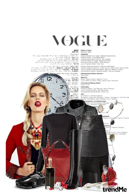 Time to Vogue from collection novo iskušenje by senzual