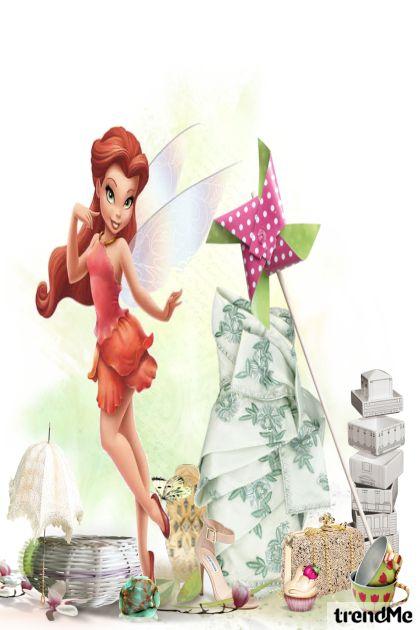 like a fairy