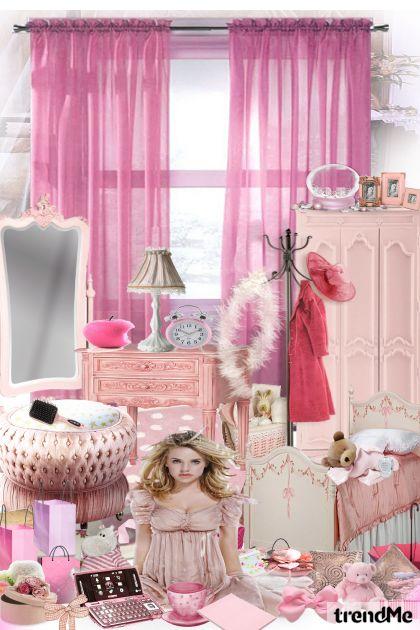mala ružičasta soba...