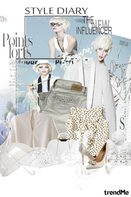 bijela elegancija...