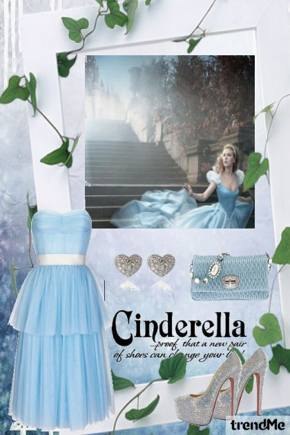 I wanna be like Cinderella